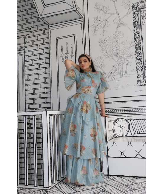 فستان قطن ايطالي